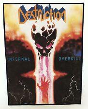 DESTRUCTION BACKPATCH / SPEED-THRASH-BLACK-DEATH METAL