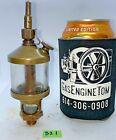 LAVIGNE MFG CO. #3 Brass Cylinder Oiler Hit Miss Gas Engine Steampunk Antique