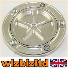 Alloy Chrome Motorbike Fuel Cap Ducati MONSTER 600 750 1000 ALL YEARS FCAP532CH