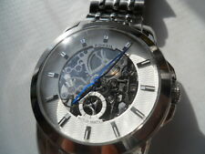 Fossil skeleton Automatic men's water resist stainles steel Analog watch.ME-1028