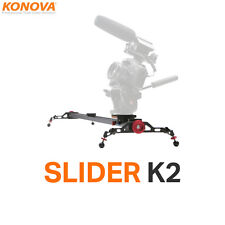 "Konova Slider TELECAMERA k2 120cm (47.2"") Tenere Traccia Dolly compatibile MOTORIZZATA Timelapse"