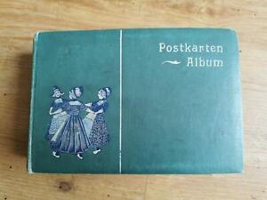 Postkarten Album mit ca.  100 Ansichtskarten vor 1930 viele aus Bayern
