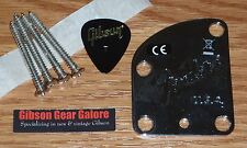 Fender Stratocaster Jeff Beck Neck Plate Chrome Guitar Parts Project Contour USA