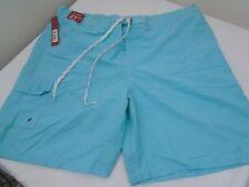 NEW Men's MERONA BOARD GREEN/BLUE Shorts Swim Shorts ~ Size XXL - 2XL NWT  #0579