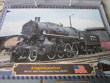 Lokarchiv Dampfloks 692 USA Kriegslokomotiven 1942 US Army Transportation Corps