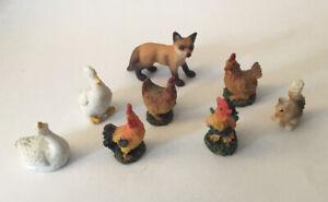 Dolls House Farm Animals