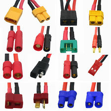 DIY RC FPV battery Controller wire XT60 XT90 AS150 T-PLUG TRX HXT EC5 EC3 Tamiya