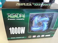 XION 1000W 1000 Watt ATX Power Supply Nvidia Radeon Dual PCIe 140mm Quiet Fan @@
