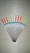 12 x Assorted High Quality Pole Fishing Floats (Pack 3)