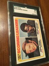 1978 TOPPS Walter Payton #334 Scoring Leaders MINT 9 SGC 96