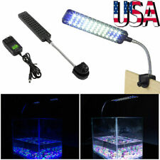 Flexible Arm 48Led Aquarium Lamp Light Clip on Plant Grow Fish Tank Lighting New