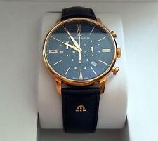 Maurice Lacroix Herren Chronograph Eliros EL1098-SS001-410-1 blau Gold Neu & OVP