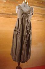 Tawny Field Summer Dress in Dior Gray by Prairie Underground XS