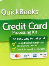 Intuit QuickBooks Credit Card Processing Kit 2008 Quick Books VISA Windows