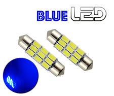 2 Ampoule LED BLEU navette Anti erreur C10W 41 mm 41mm Eclairage Plafonnier