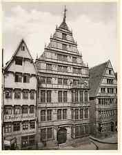 Allemagne, Hannover, Leibnitzhaus  Vintage print Photomécanique  21x27  19