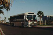 Silver Eagle bus Kodachrome original Kodak Slide