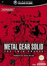 Metal Gear Solid The Twin Snakes Nintendo GameCube Rare