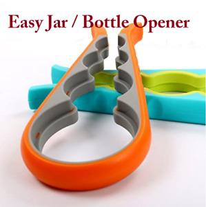 Jar Opener, Bottle Lids Opener, 8 in 1 Multiple Sizes Best for Seniors Multi-use
