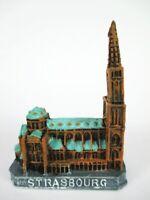 Straßburg Münster Strassbourg Souvenir Poly Modell 6,5 cm,Germany,Neu