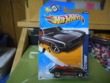 2012 Hot Wheels Muscle Mania - '12 '69 Camaro Convertible Black  MONMC (see pic)