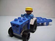 Lego Duplo Trecker mit Pflug für Bauernhof