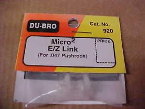 DU-BRO 920 = MICRO 2 E/Z LINK  (NEW)