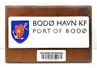 """Vintage Antique Wooden Plaque & Sign """"Bodo Havn KF"""" For Home Decor"""