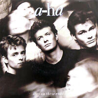"""a-ha 7"""" Stay On These Roads - France (VG+/EX+)"""