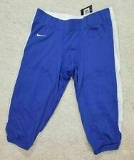 "New Nike ""Swoosh"" Blue & White Football Pant $70 Mens Size 3Xl"