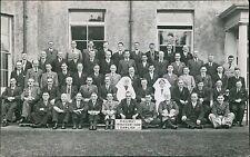 Dawlish. Railway Convalescent Home. 1939. Group Gentlemen Nurses  JE.1582
