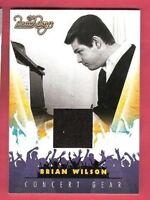 BRIAN WILSON THE BEACH BOYS SINGER CONCERT WORN Memorabilia RELIC CARD #6