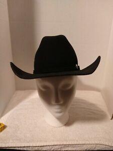 Ariat Boy's' Wool Medium Cowboy Hat  - A7210201 Black