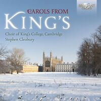 CAMBRIDGE KING'S COLLEGE CHOIR - CAROLS FROM KINGS  CD NEW! VARIOUS