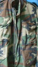 Heavy weight Military M-65 Field Jacket Vintage Army Uniform Camo M65 Coat