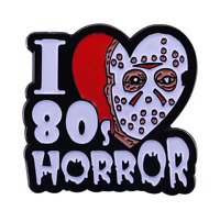 Jason Voorhees Enamel Pin Friday the 13th 80s Horror Movie Lapel Pin Halloween