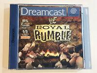 SEGA DREAMCAST WWF ROYAL RUMBLE WRESTLING GAME WWE & SEGA GT DISC