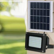 54 LED Light Solar Sensor Flood Spot Lamp Garden Outdoor Security Waterproof