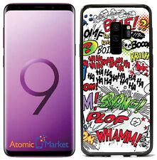 Comic Book Words For Samsung Galaxy S9 2018 Case Cover