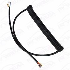 8 Wire Coiled Cord Steering Wheel Motec AEM Shifter