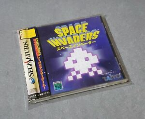 [ SAT ] SPACE INVADERS - Classic Arcade Shooter - Sega Saturn JAPAN
