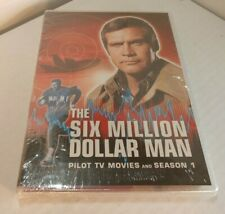 The Six Million Dollar Man:Pilot,TV Movies and Season 1 (DVD Set) NEW-Free S&H