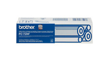 More details for original brother pc-72rf pc72rf black fax refill rolls pack x 2 | free uk p&p
