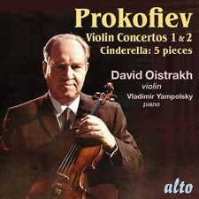 [BRAND NEW] CD: PROKOFIEV: VIOLIN CONCERTOS 1 & 2 / CINDERELLA 5 PIECES