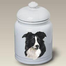 Border Collie Treat Jar