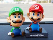 """Super Mario Bros. MARIO & LUIGI Figure Bubble Head Doll 5-5.5"""" Toy"""