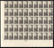 "765 Farley spec printing "" 10c National Park"" Sheet of 50 Mint, NH"