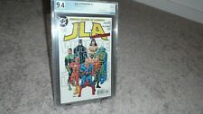 JLA CLASSIFIED COMIC #1, PGX GRADE 9.4