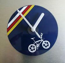 Lightweight Raleigh team aero pro burner BMX stunt bike wall CD clock 120mm