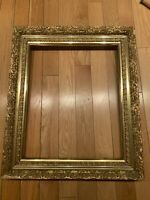 Vintage Gilded Frame MidCentury 23x27 and 21.5x17.5 Inches.
